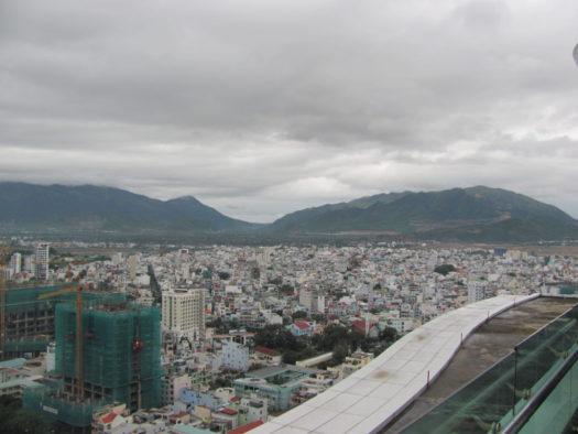 Вид с террасы отеля Шератон