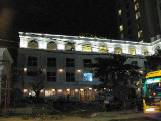 Завершение строительства отеля Isena в Нячанге