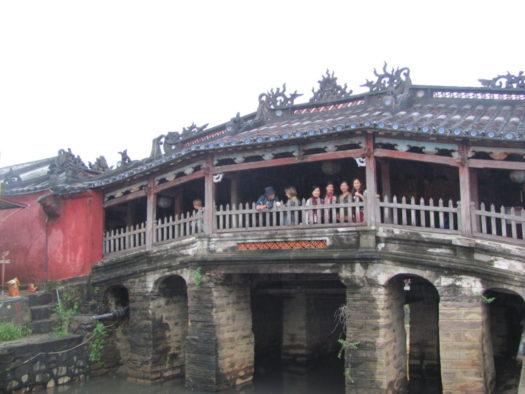 Японско-китайский мост в Хойане