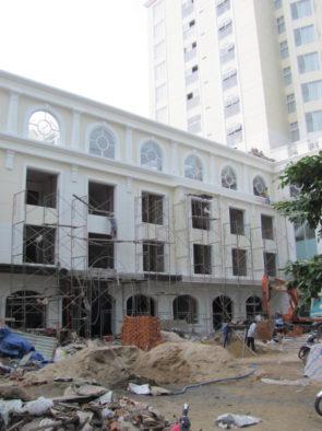 Быстрое строительство в Нячанге, Вьетнам