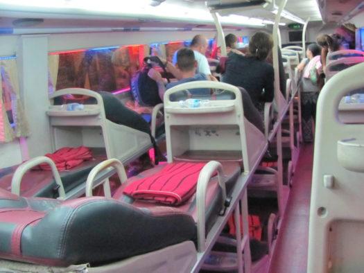 Спальный автобус Вьетнама