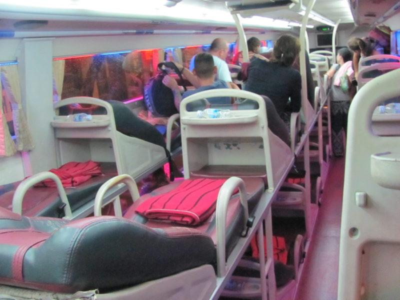 Спальные автобусы Вьетнама