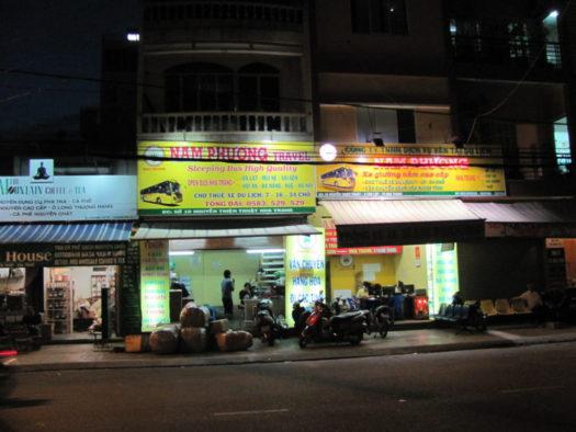 Продажа автобусных билетов Nam Phương Travel