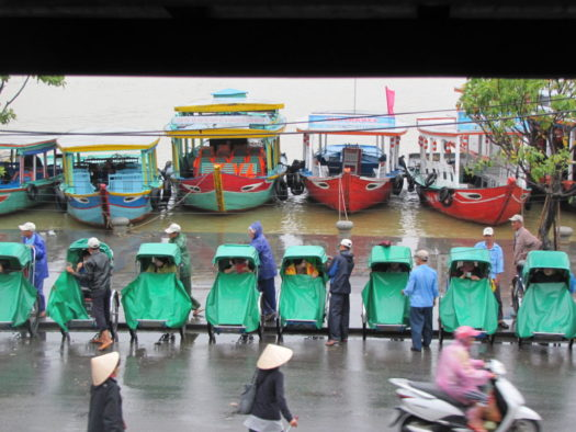 Велорикши, Хойан, Вьетнам