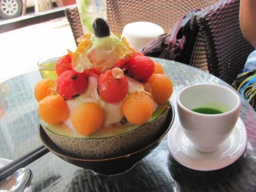 Бингсу в кафе Avatar