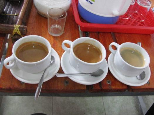 Дегустация кофе в кофейне Ан Дао (An Tea Coffee)