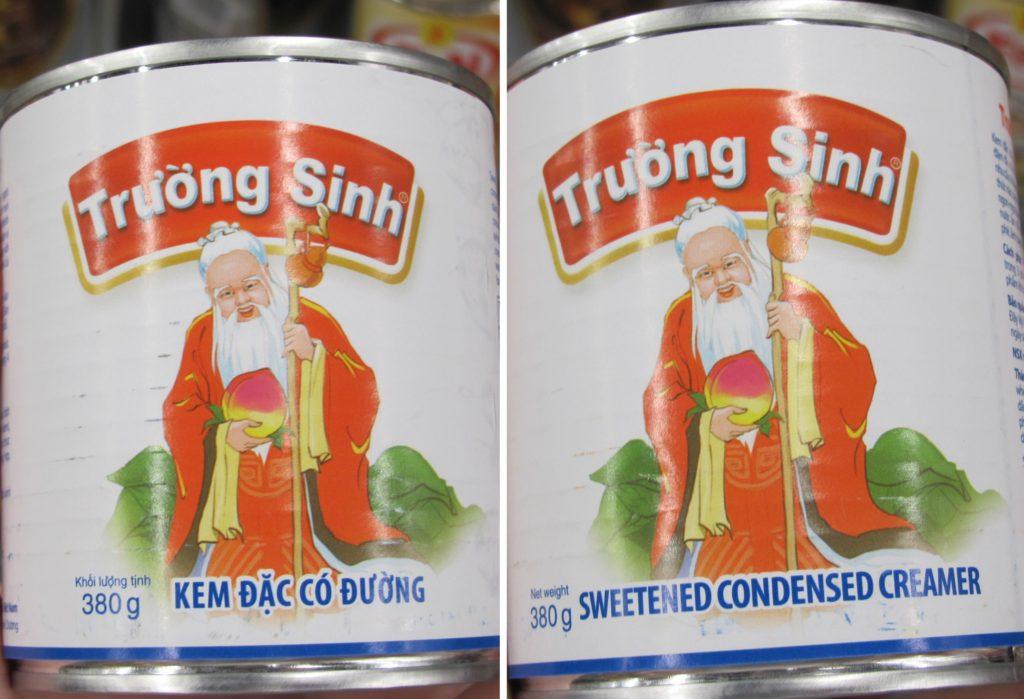 Condensed creamer, сгущенка вьетнамская