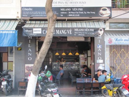 Кофейня Milano, Нячанг, Вьетнам