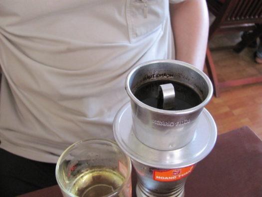 Фин с кофе