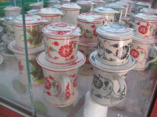 Фины для кофе из керамики