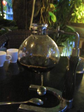 Колба сифона для кофе по-японски
