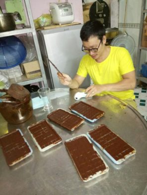 Шоколад ручной работы в кофейне Ан Дао