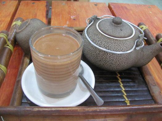 Какао в кофейне Ан Дао