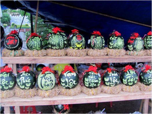 Резьба по арбузам, Нячанг