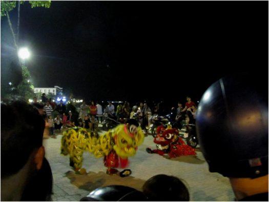 Танец Дракона в Тет в Нячанге