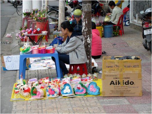 Цветы и подарки в День святого Валентина, Нячанг