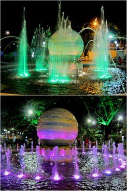 Фонтан в парке Yến Phi Park, Нячанг, Вьетнам