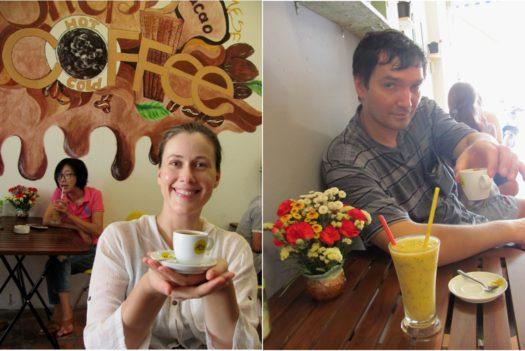 Кофе и смузи в Ан Дао 2