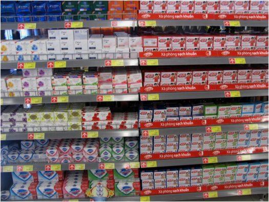 Антибактериальное мыло в супермаркете Lotte Mart, Нячанг, Вьетнам