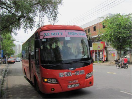 Междугородный автобус Нячанг-Камрань
