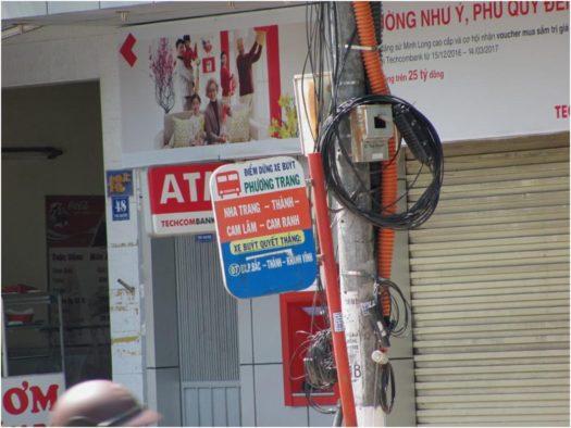 Остановка автобуса Нячанг - Камрань