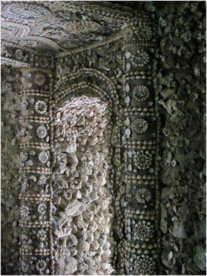 Декор из ракушек в башне Bảo Tích, пагода Từ Vân, Камрань