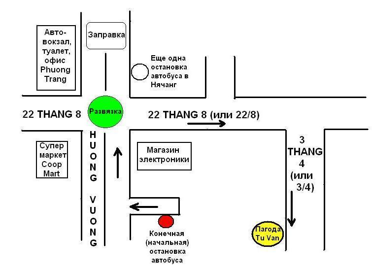 Как пройти к пагоде Từ Vân