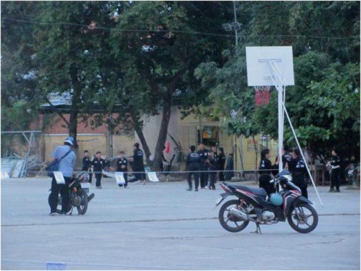 Тренировка по вовинам вьет во дао в Нячанге