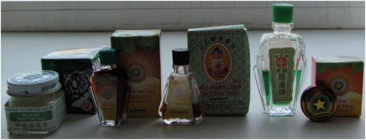 Вьетнамские мази и масла