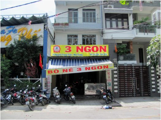 Кафе Bo Ne 3 Ngon в Нячанге