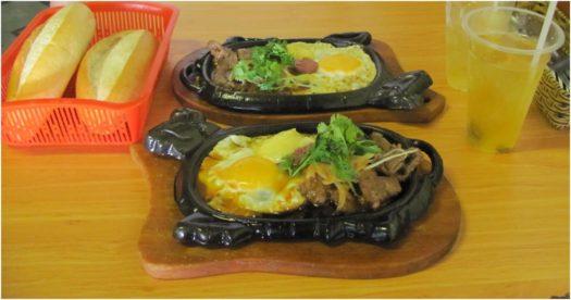 Боне (bò né), багеты и зеленый чай, Нячанг