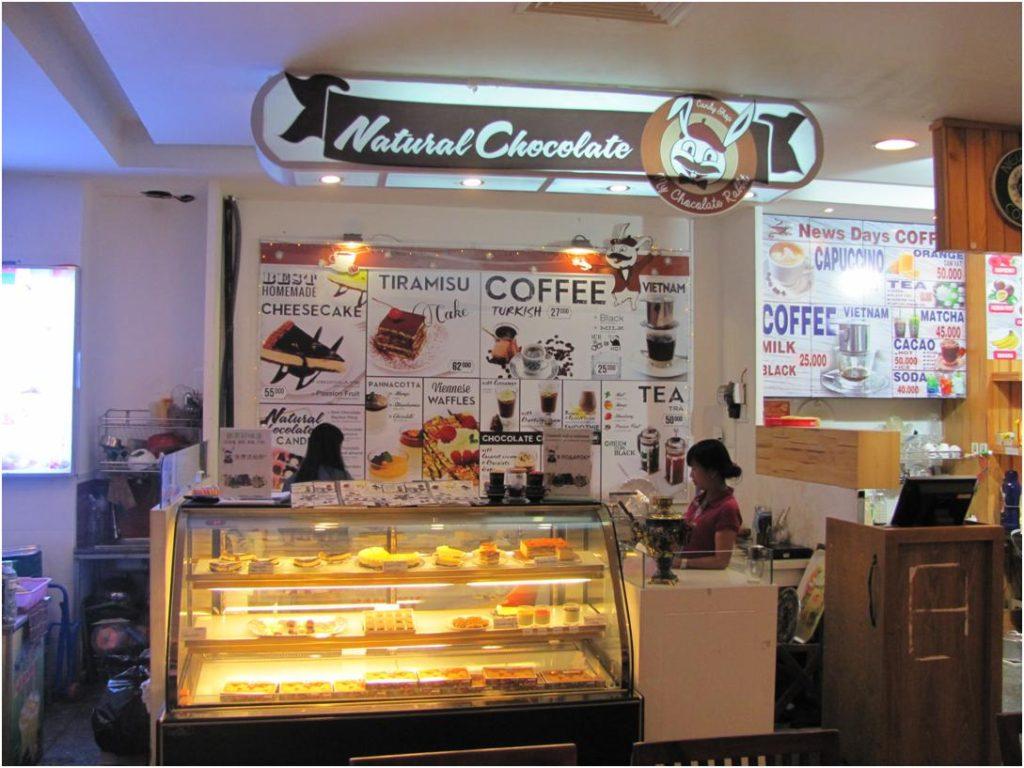 Natural Chocolate на фуд-корте Нячанг Центра, Нячанг