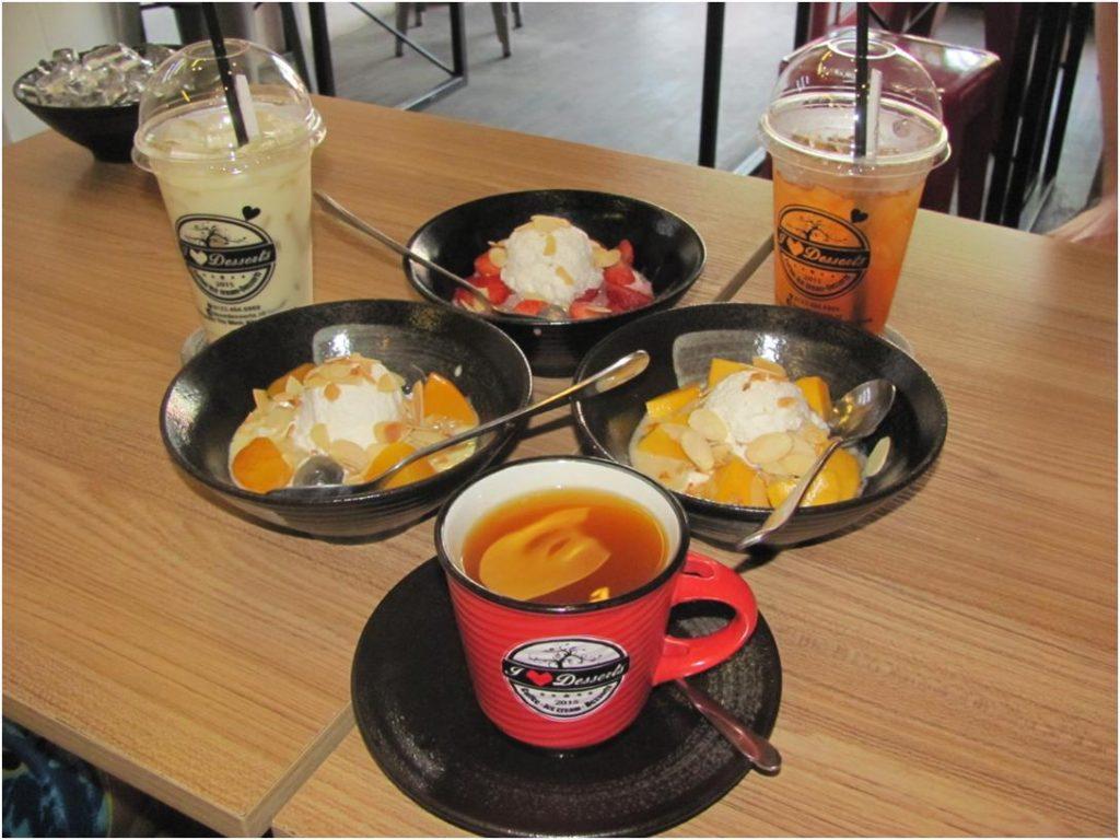 Сладкий сырный суп, I love desserts, Нячанг