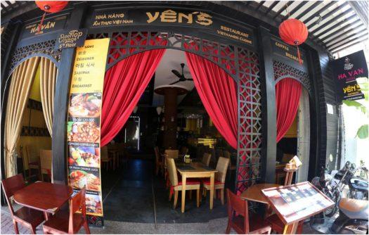 Ресторан вьетнамской кухни Yến's, Нячанг