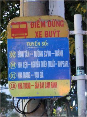 Остановка автобуса Нячанг - аэропорт
