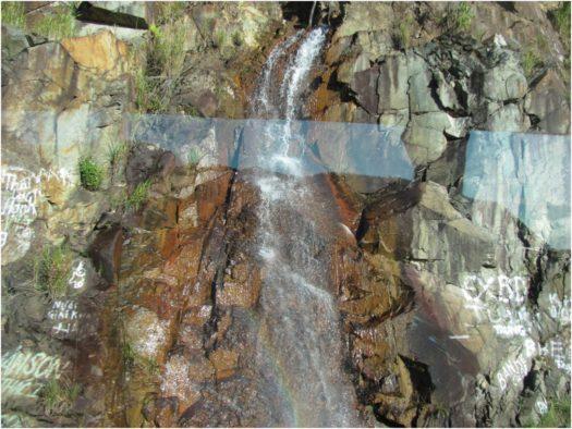 Небольшой водопад по дороге в Далат