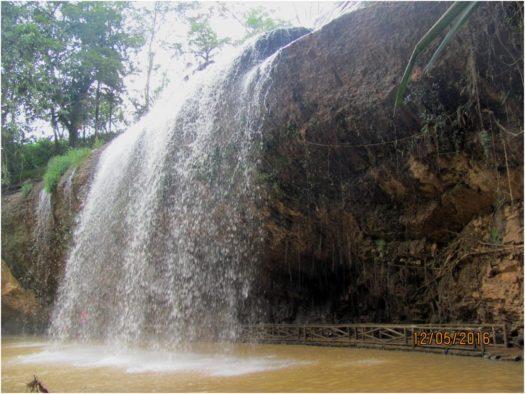 Водопад Пренн, Далат, Вьетнам