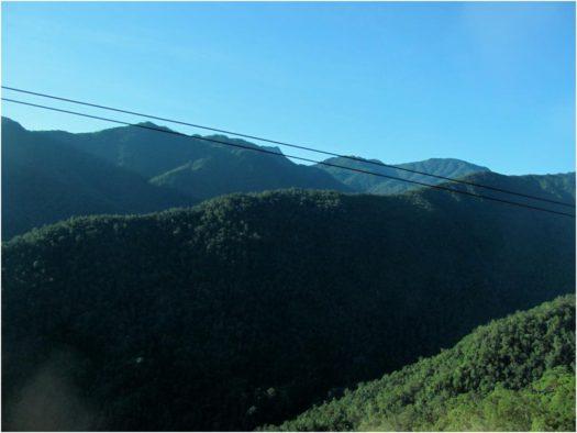 Горы по дороге в Далат, провинция Лам Донг