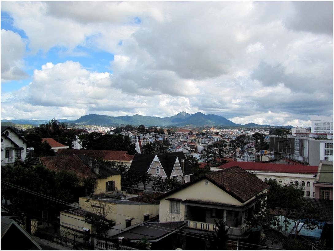 Вид на Далат, Вьетнам