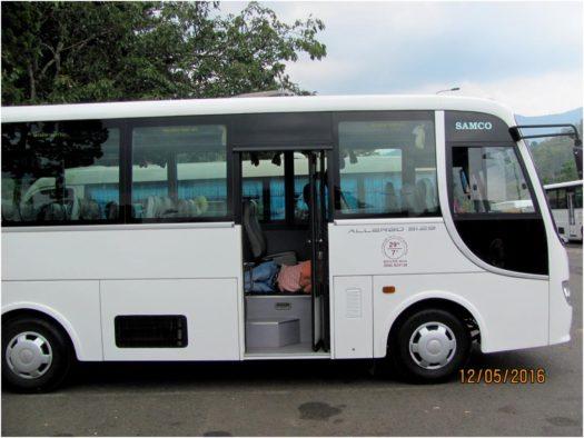 Экскурсионный автобус Русского Информационного Центра