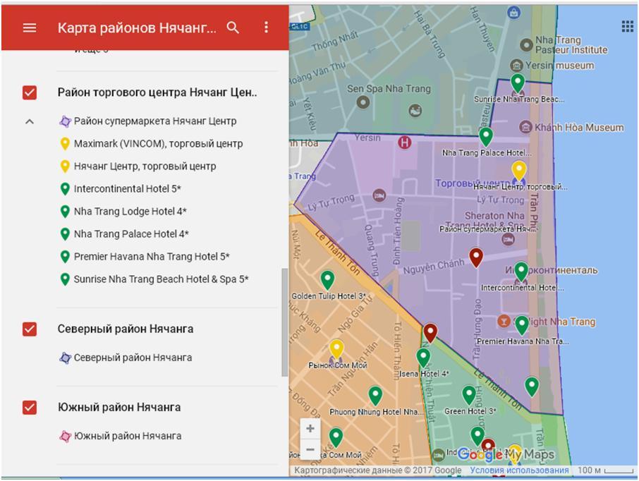 нячанг карта торговых центров нашем сайте