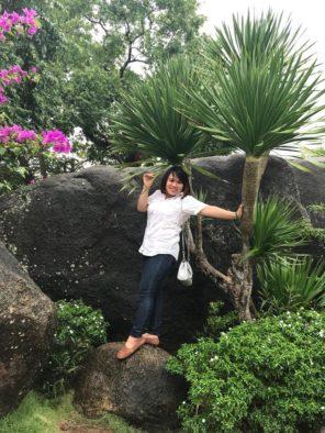Apart-hotel manager Nguyen Tham