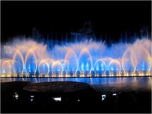 Поющие фонтаны на Винперл