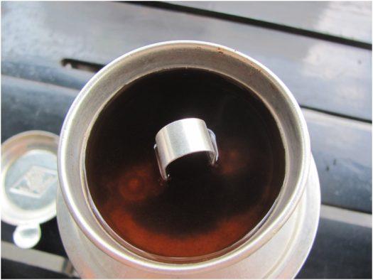 Фин с натуральным кофе