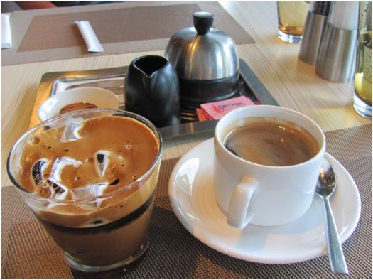 Кофе в отеле Intercontinental