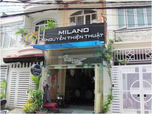 Кофейня Milano на улице Nguyen Thien Thuat