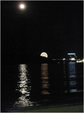 Луна над островом Vinpearl