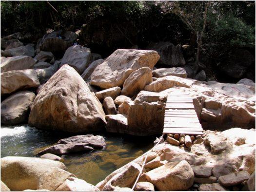 Первый каскад водопадов Бахо