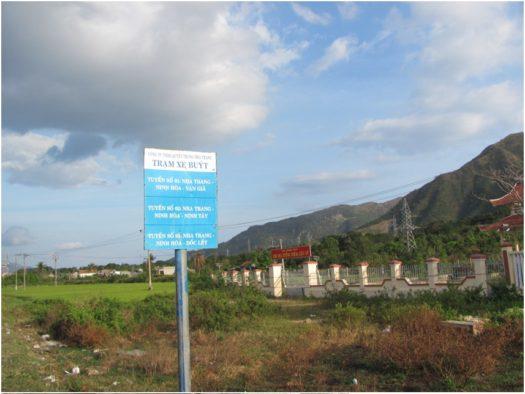 Остановка автобусов от Бахо
