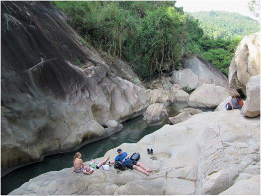 Третий каскад водопадов Бахо